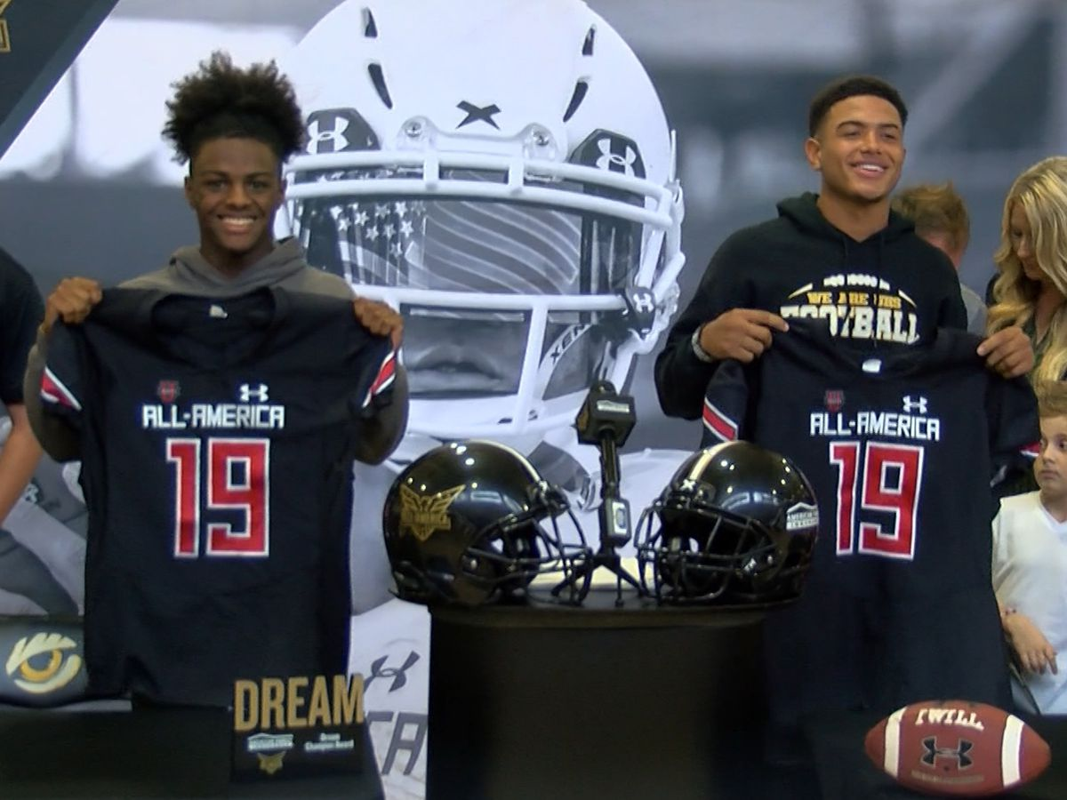 UHigh stars receive All-America jerseys