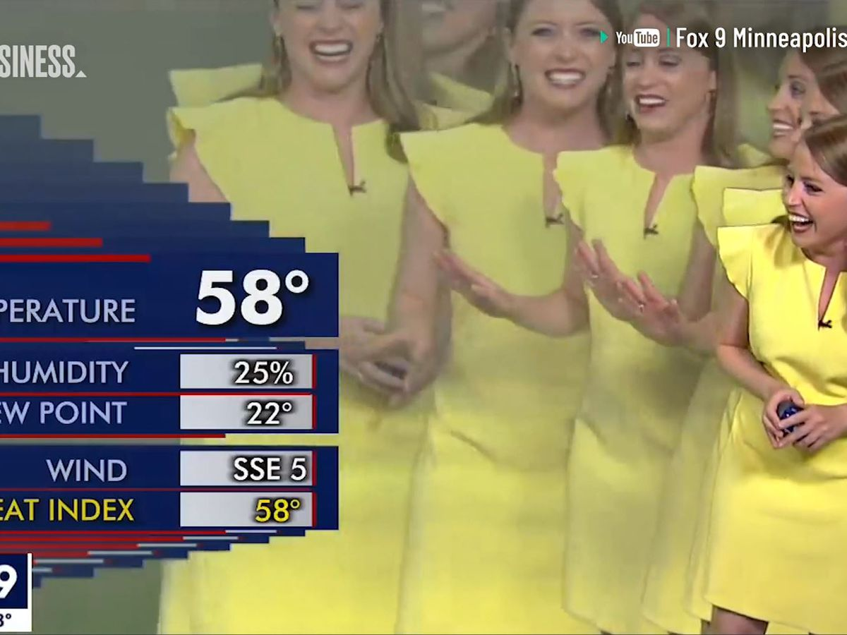 Weather reporter 'multiplies' in hilarious graphics error on live TV