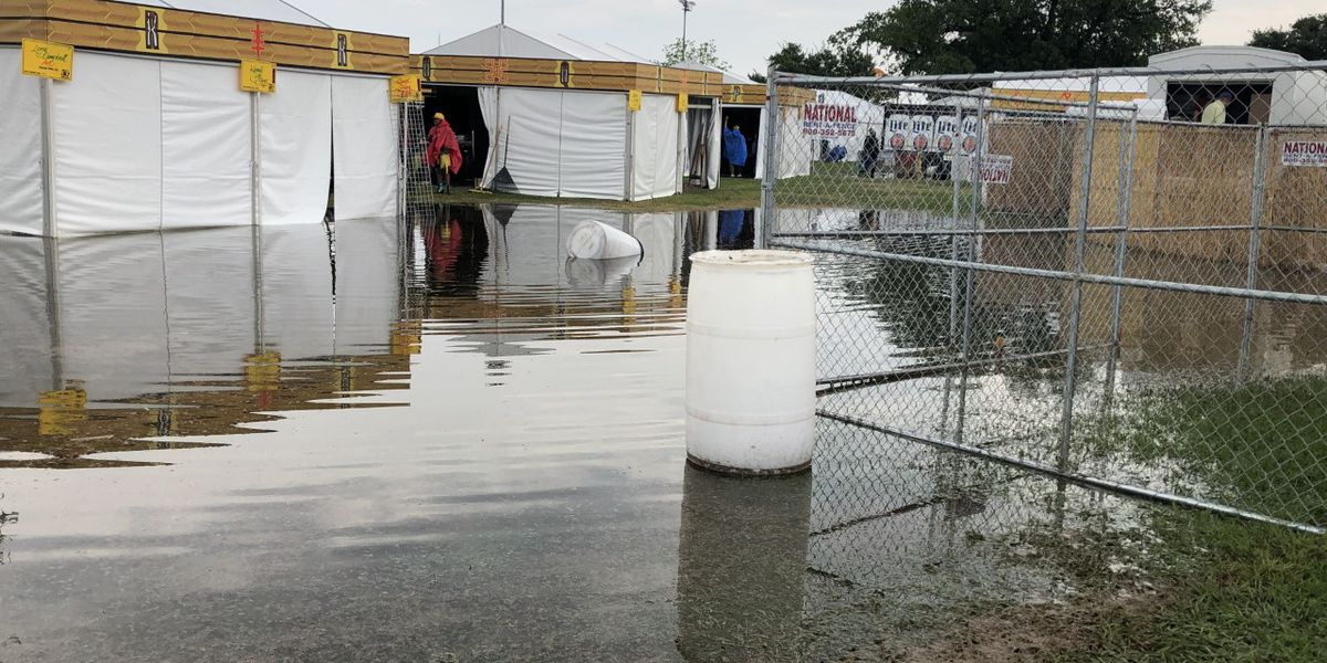 Jazz Fest opens gates; Zurich Classic iffy after weather delay