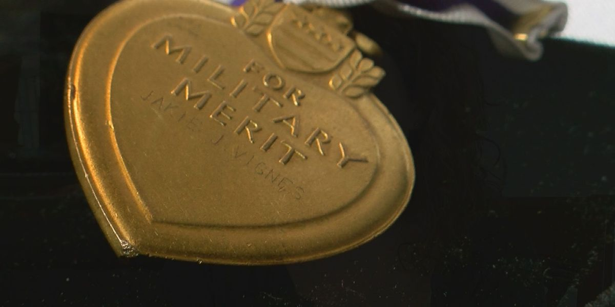 Nothing else to remember him by, Purple Heart medal finds veteran's family 68 years later