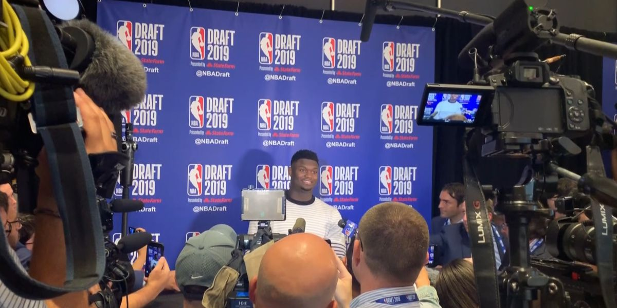Zion embraces the hype amid impending arrival in New Orleans