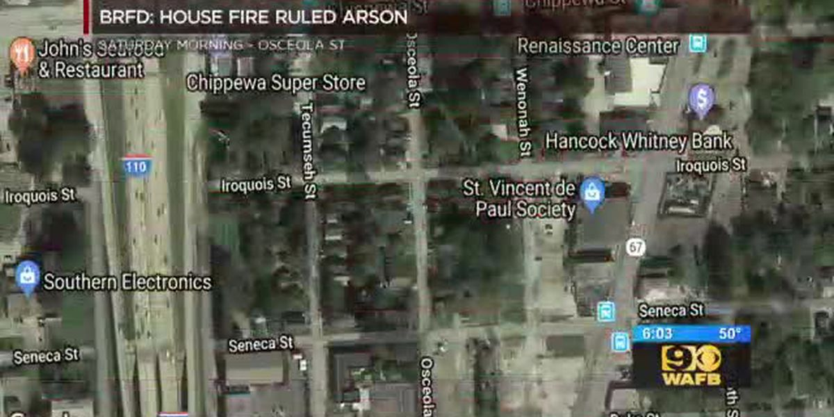 Saturday morning fire at local duplex determined to be arson