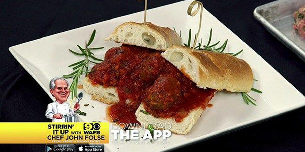 Spicy Italian Meatball Peacemaker