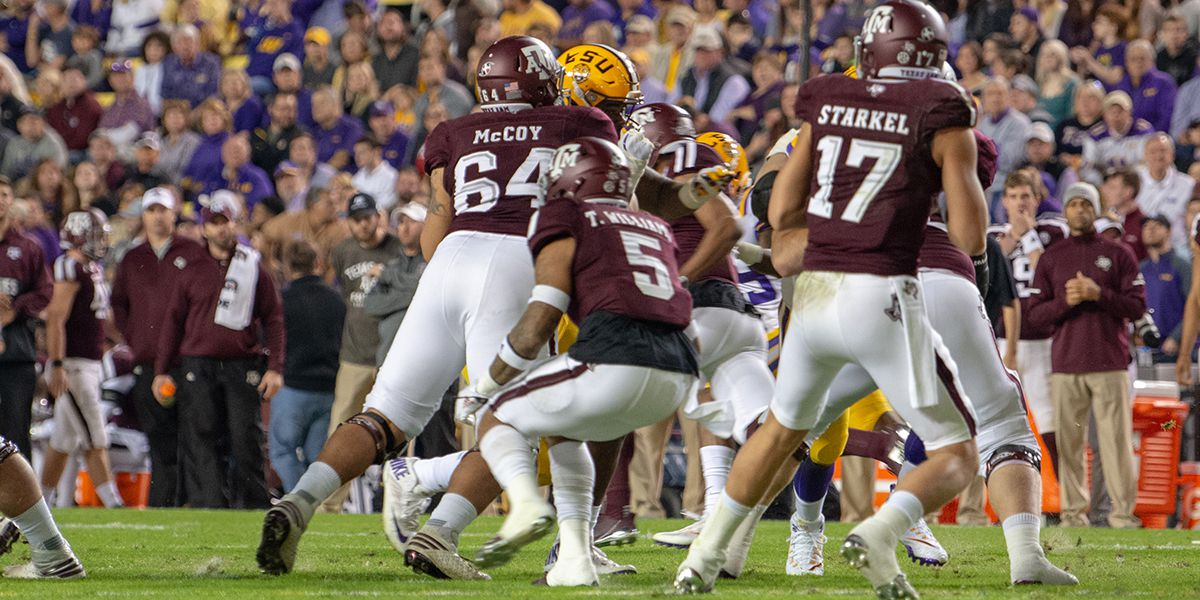 NFL DRAFT: New Orleans Saints select center Erik McCoy from Texas A&M at No. 48 after trade with Miami