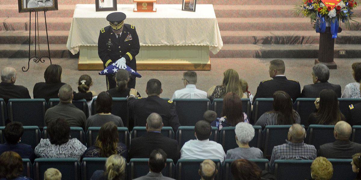 Funeral services held for Staff Sgt. Lance Bergeron, Louisiana Guardsman killed in Black Hawk crash