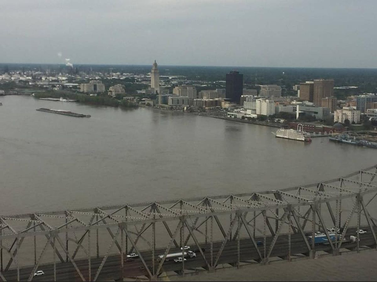 Miss River Level In Baton Rouge Expected To Gradually