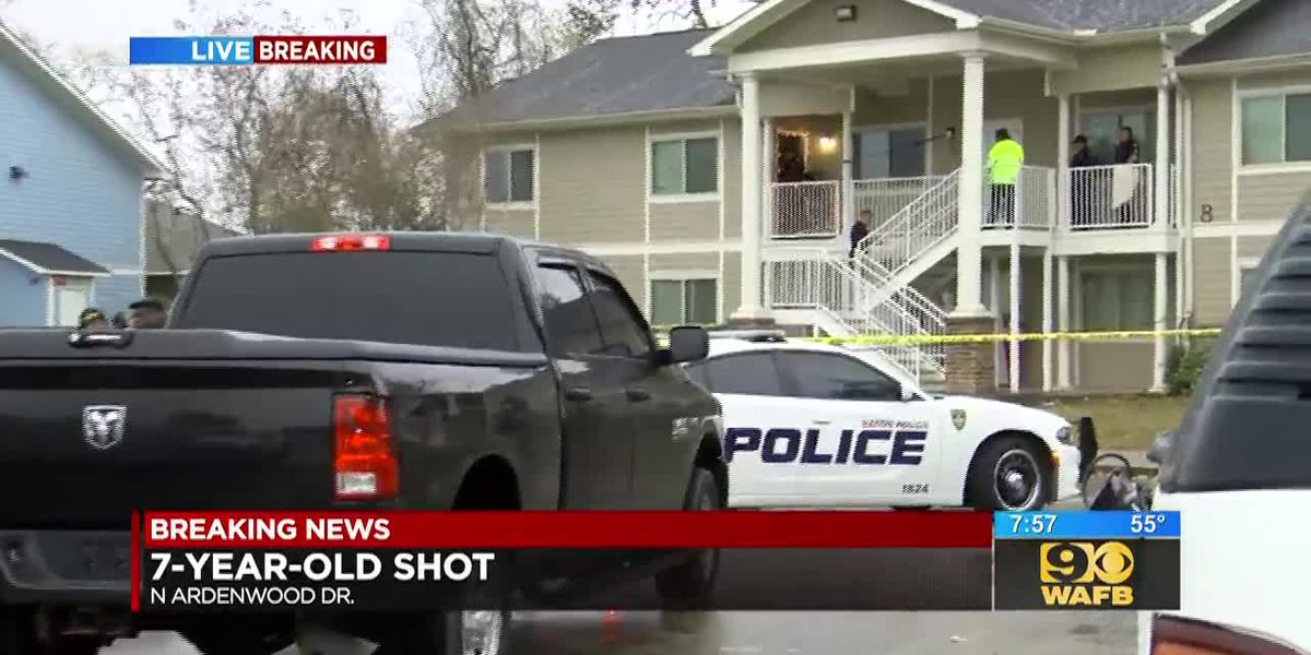 Child injured in apartment shooting