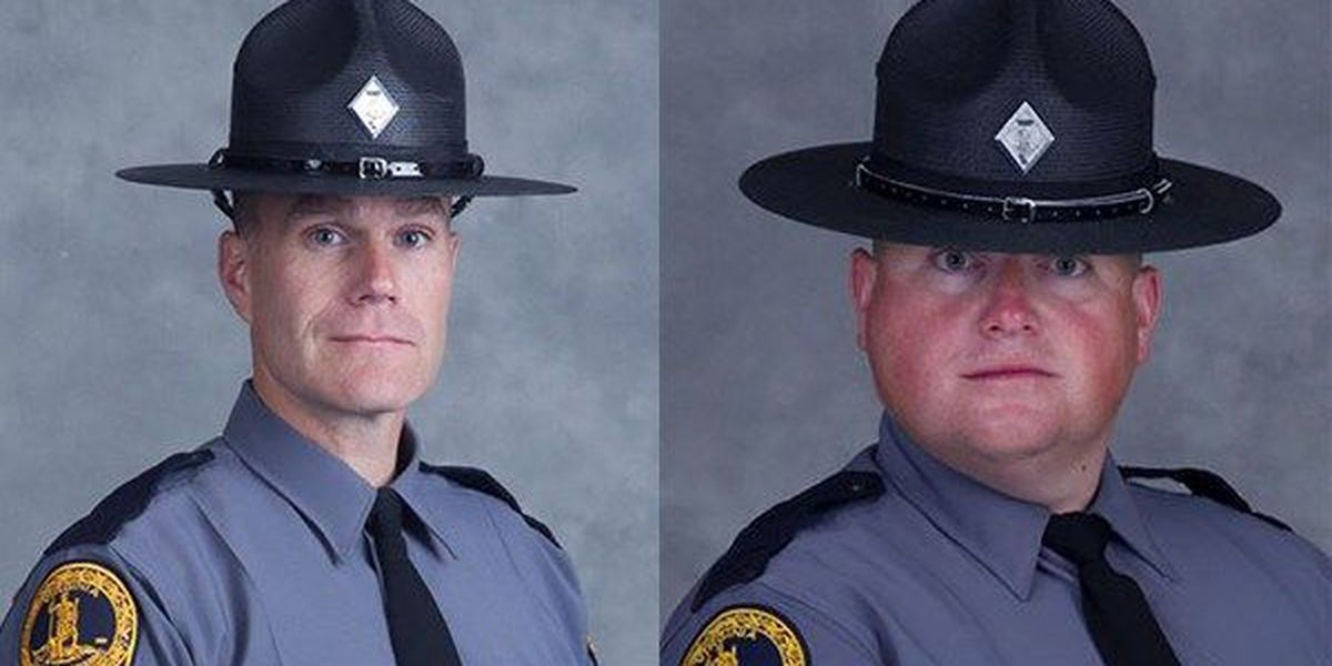 La. State Police send condolences to Va. State Police after lieutenant, trooper-pilot killed in helicopter crash