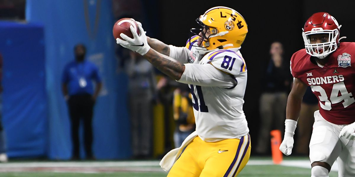 2020 NFL DRAFT: LSU TE Thaddeus Moss signs with Washington Redskins as undrafted rookie free agent
