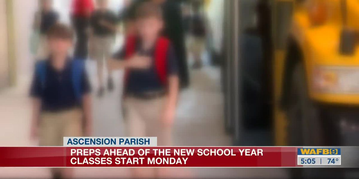Ascension Parish Pubic Schools prepare for students return-5am