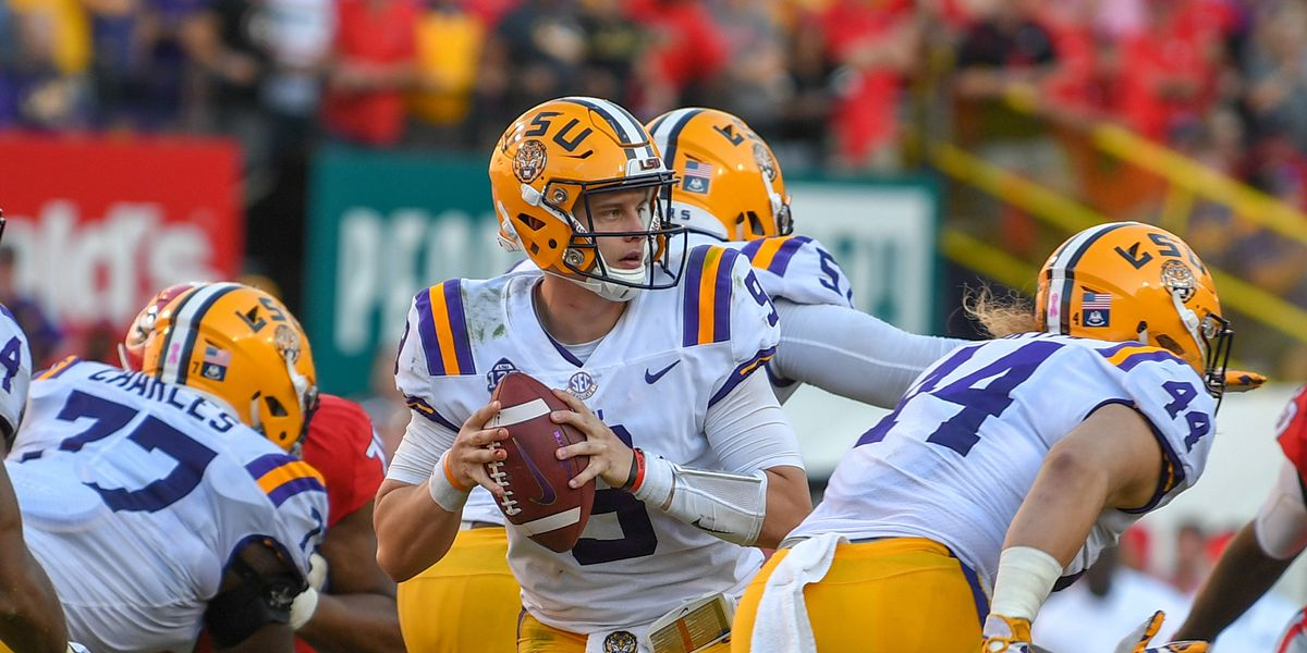 LSU QB Joe Burrow opens at 200-1 odds to win 2019 Heisman Trophy