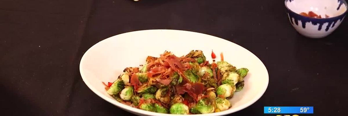 Stirrin' It Up: Brussels Sprouts with Crispy Prosciutto (Nov. 22, 2018)