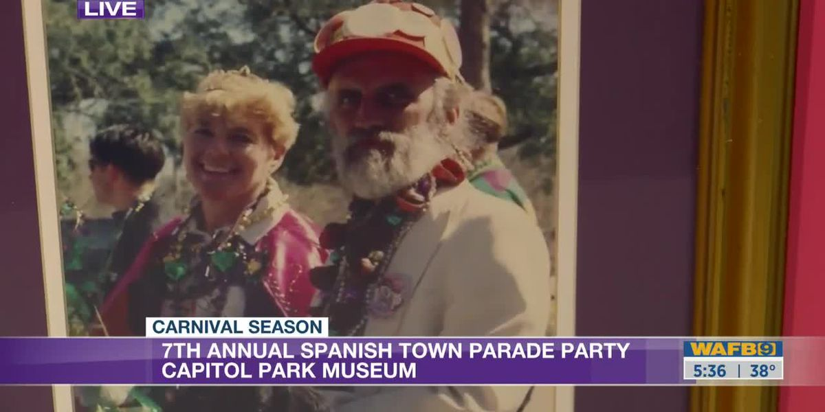 Capitol Park Museum hosts 7th Annual Spanish Town Mardi Gras Parade Party - 5:30 a.m.