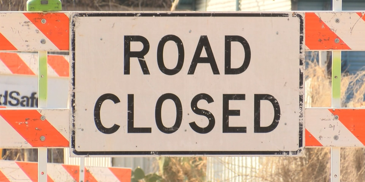 Road closures due to wintry weather
