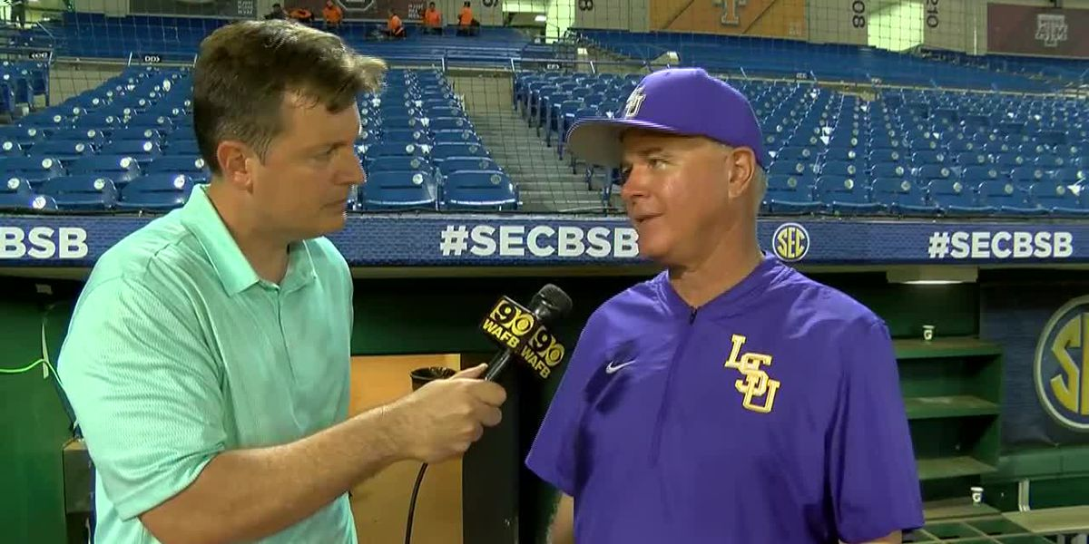 POST GAME: Paul Mainieri LSU Baseball