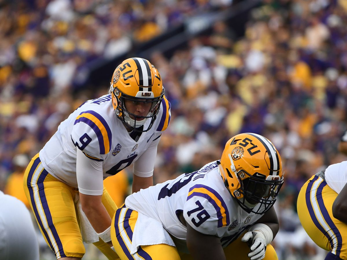 LSU eyeing 10-win season with 42-10 victory over Rice