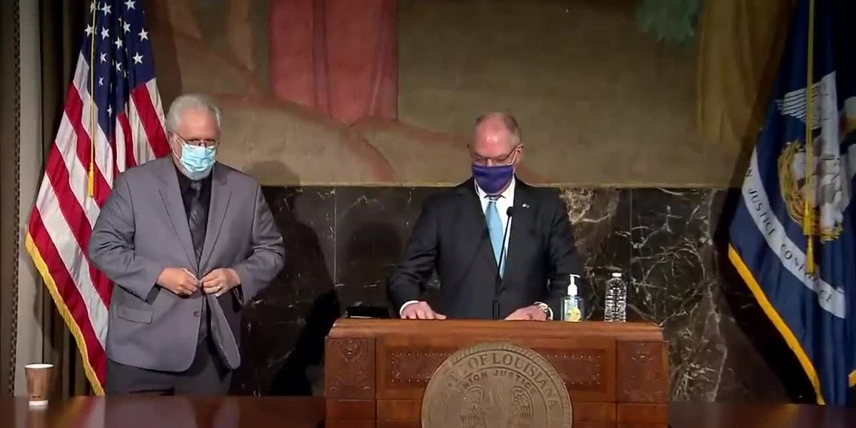 Tues. Sept. 22: Gov. Edwards gives update on special session, Beta, COVID-19