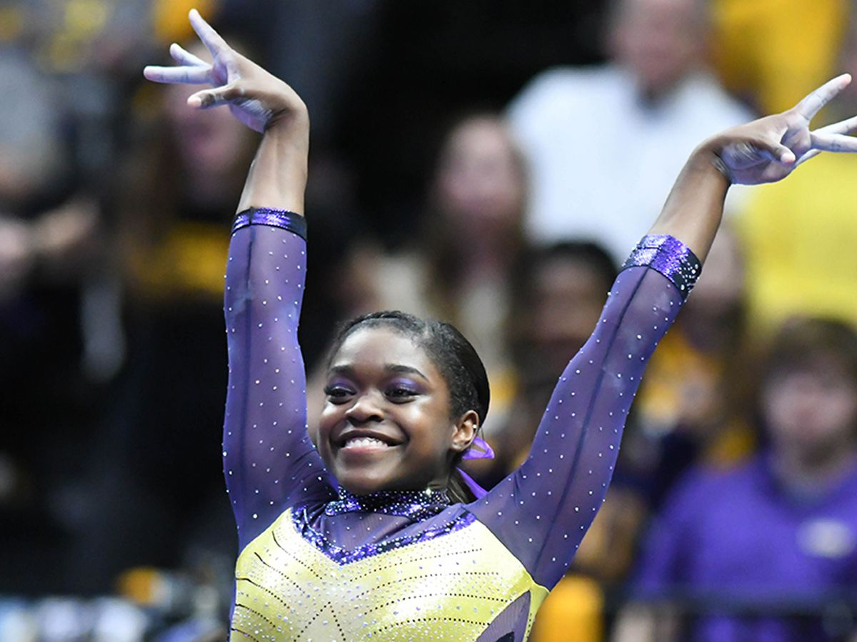No. 9 LSU gymnastics soars above No. 12 Kentucky