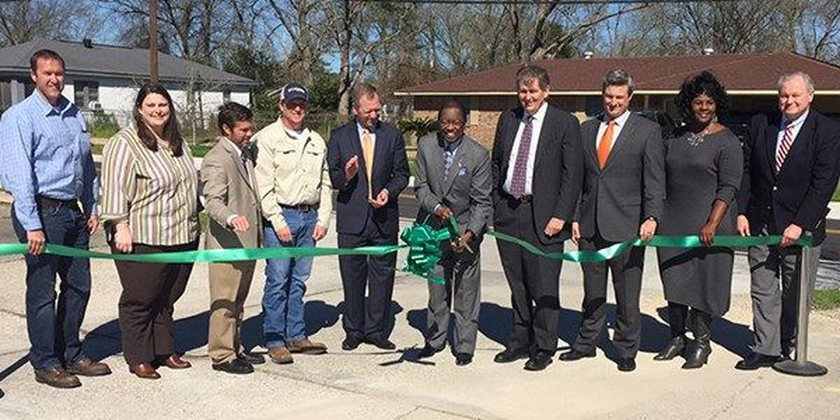 Officials cut ribbon on completion of Fairchild-Badley Improvements project