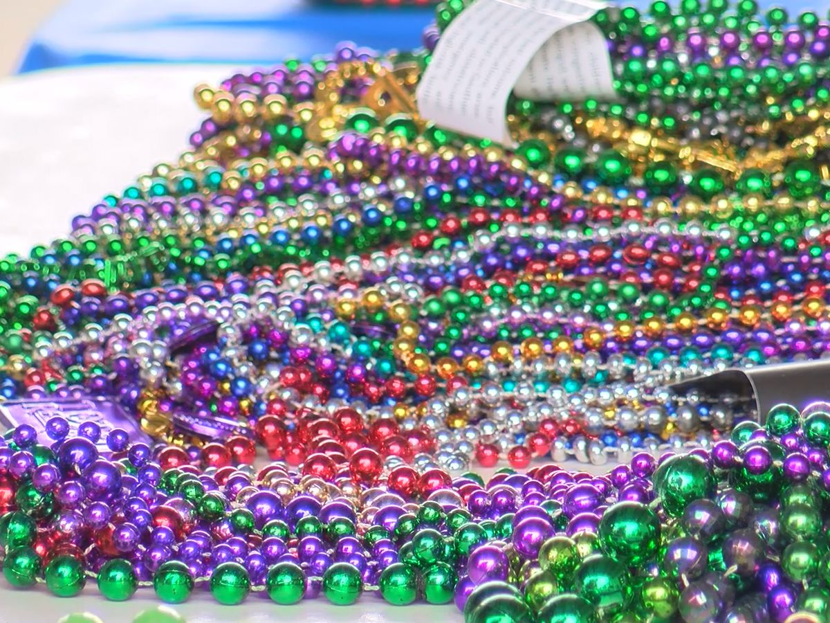 Here's where you can donate your unwanted Mardi Gras beads