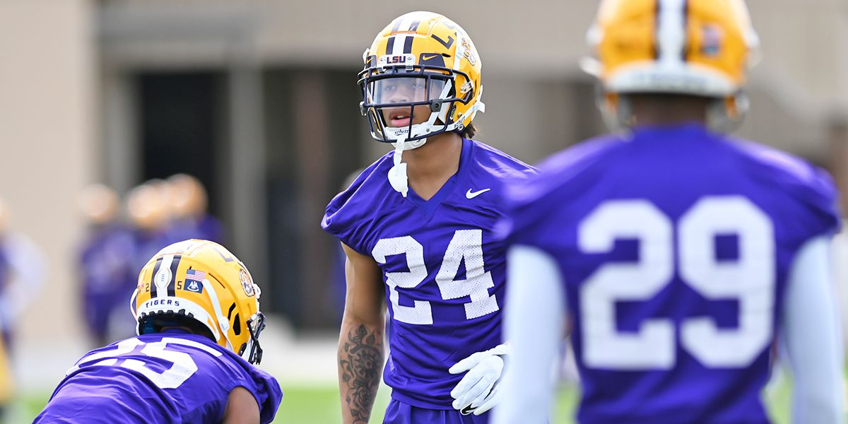 LSU CB Derek Stingley Jr. talks about ups and downs