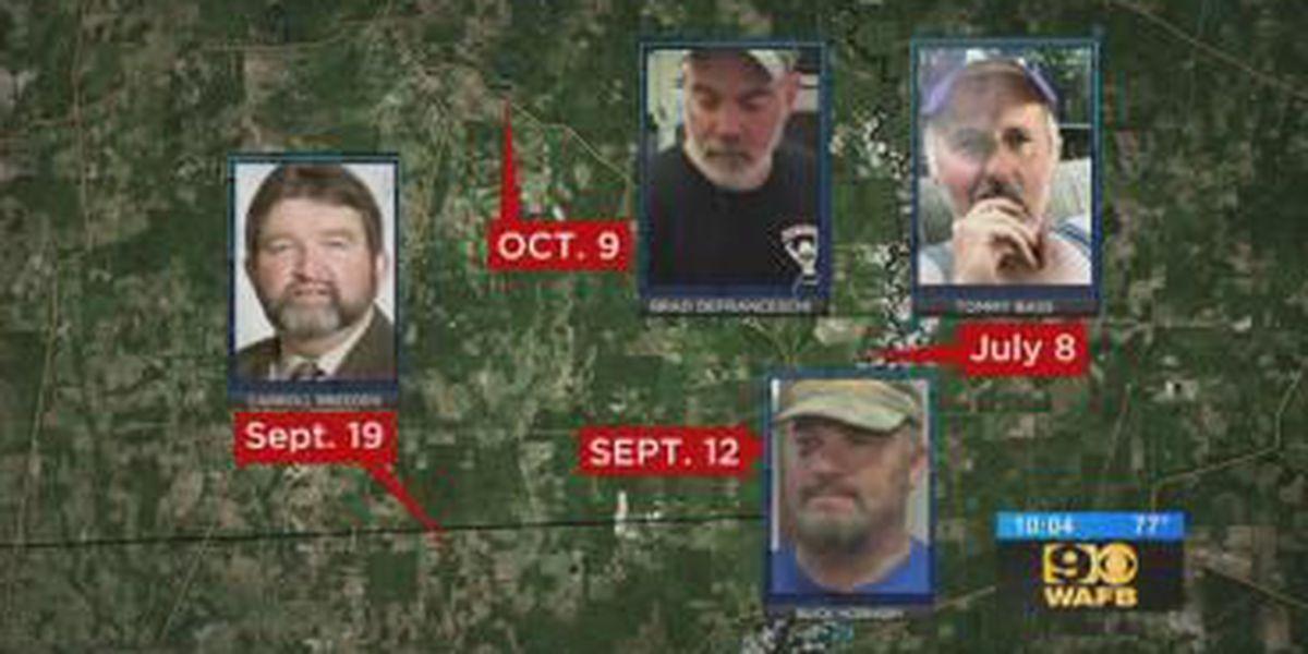 RELATED STORIES: String of rural shootings