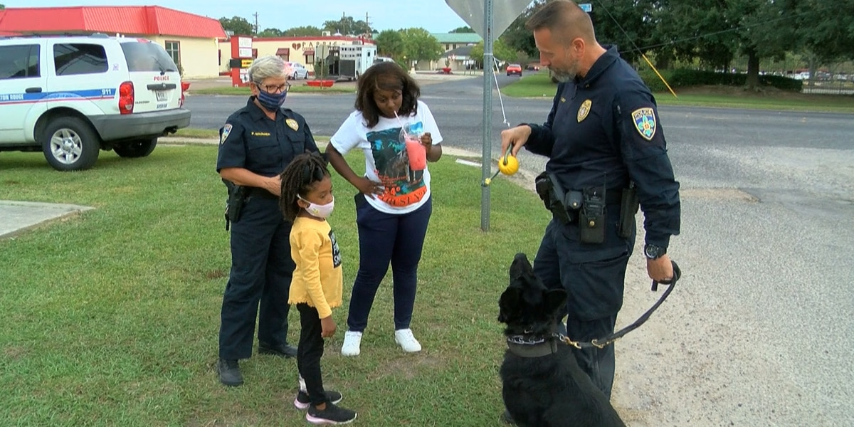Millennial Park hosts its first National Night Out Against Crime event
