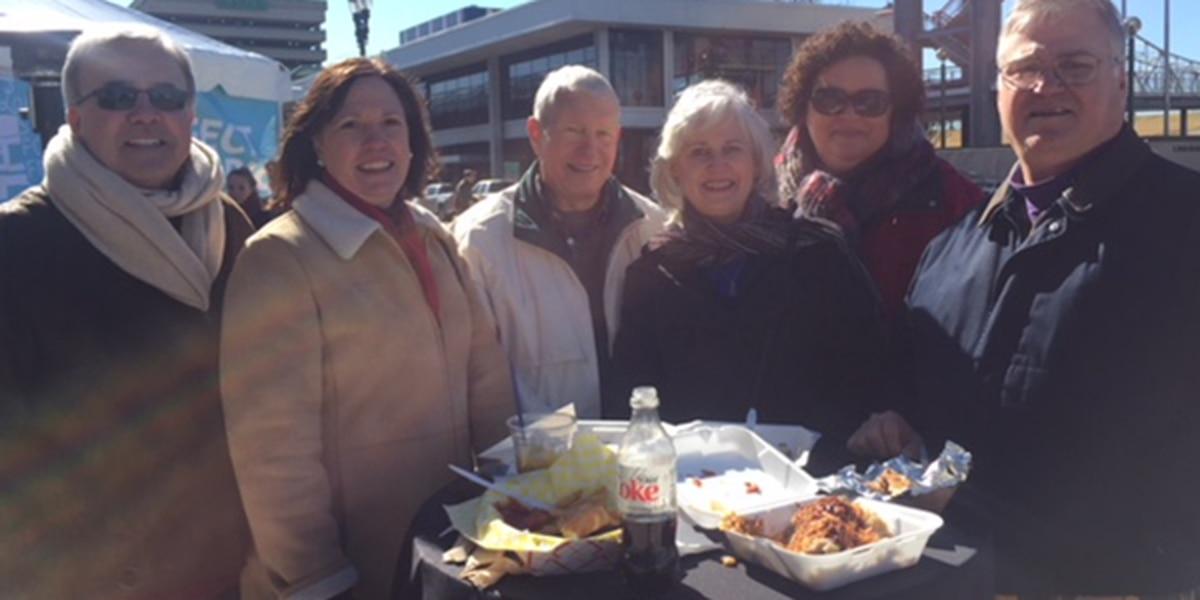 Hundreds of locals enjoy the 1st LA Street Food Fest