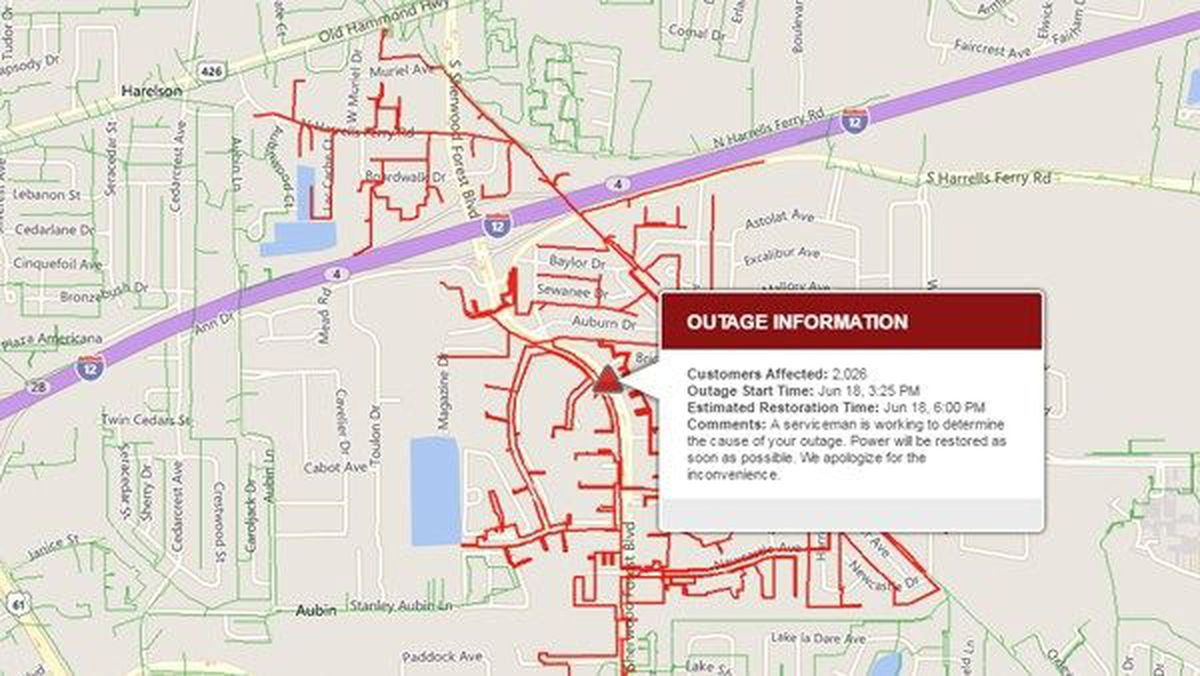 Entergy: Power restored to some, thousands still without