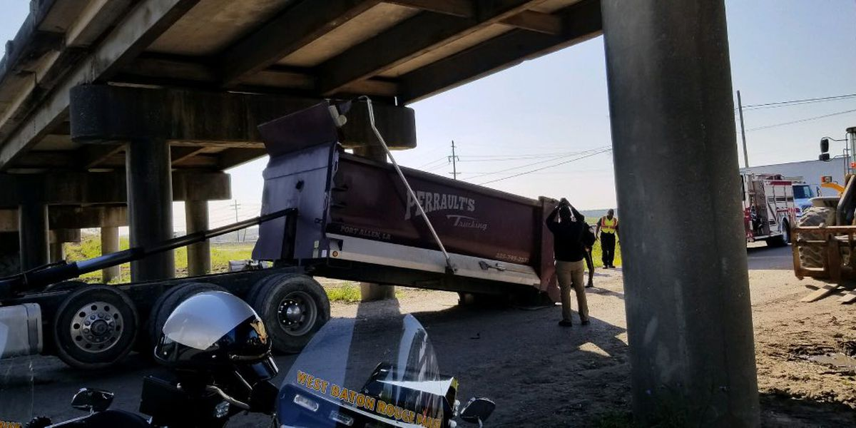 Expect slow travel on Intrcoastal Bridge after dump truck crash closes southbound lane