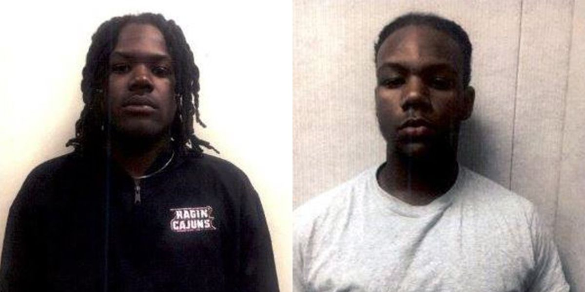 2 arrested after attempted shooting caught on video