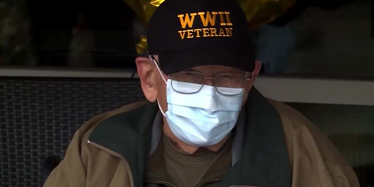 Oregon veteran, coronavirus survivor celebrates 104th birthday
