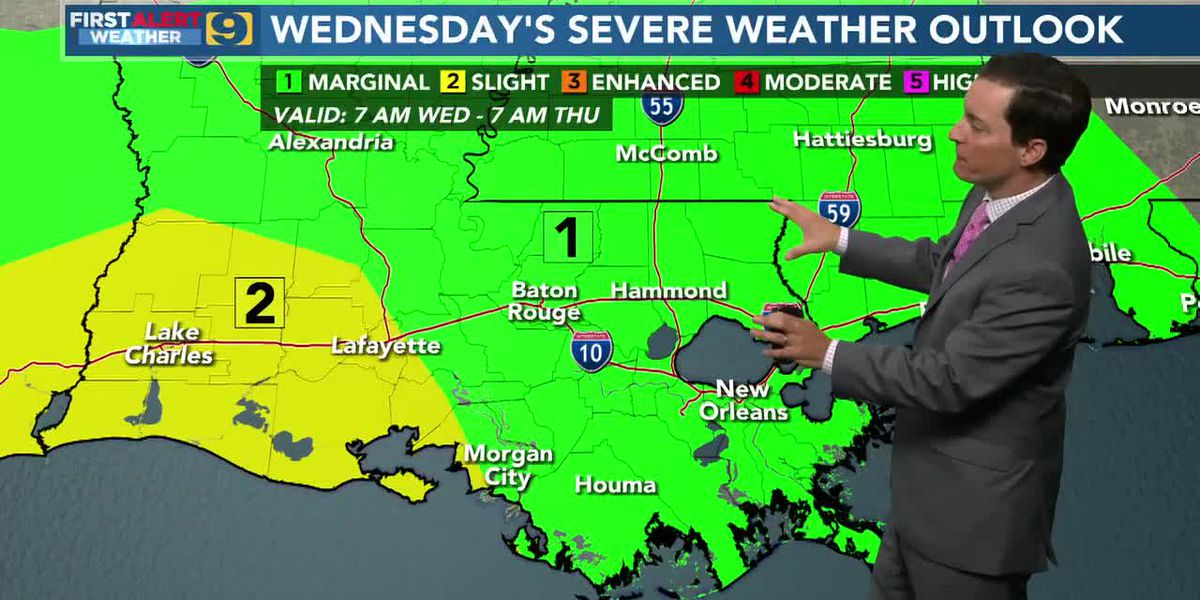 FIRST ALERT FORECAST: Wednesday, April 14 - 6 a.m.