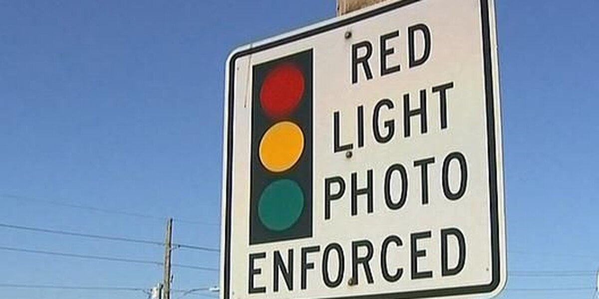 Red light cameras to remain in Baton Rouge through 2023