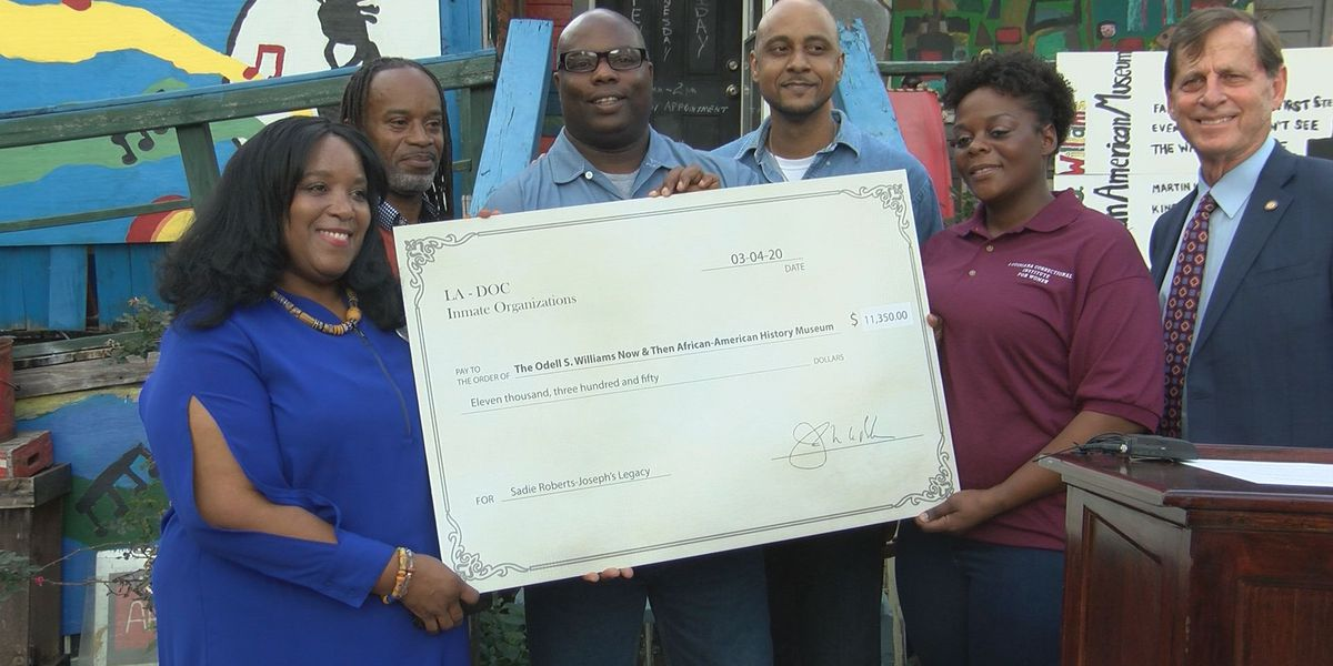 Odell S. Williams African-American Museum receives big donation from Dept. of Corrections inmates
