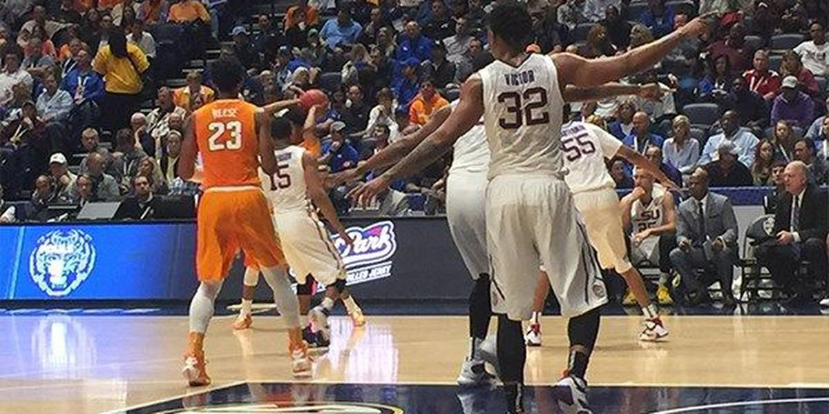 LSU pulls away from Tennessee at SEC Tournament