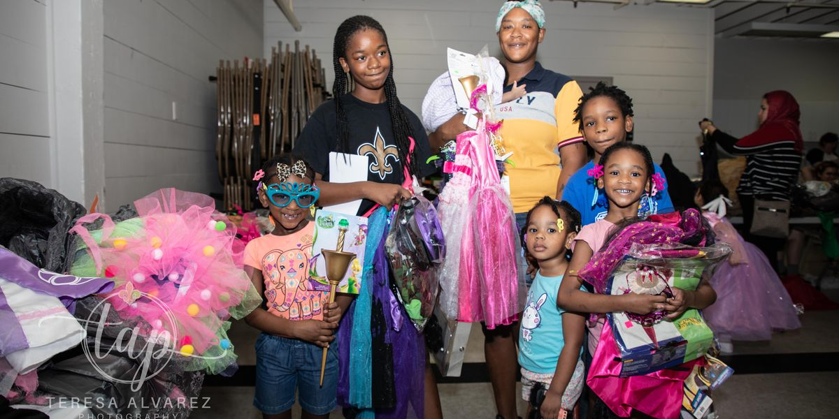 Free children's costume giveaway on Oct. 12