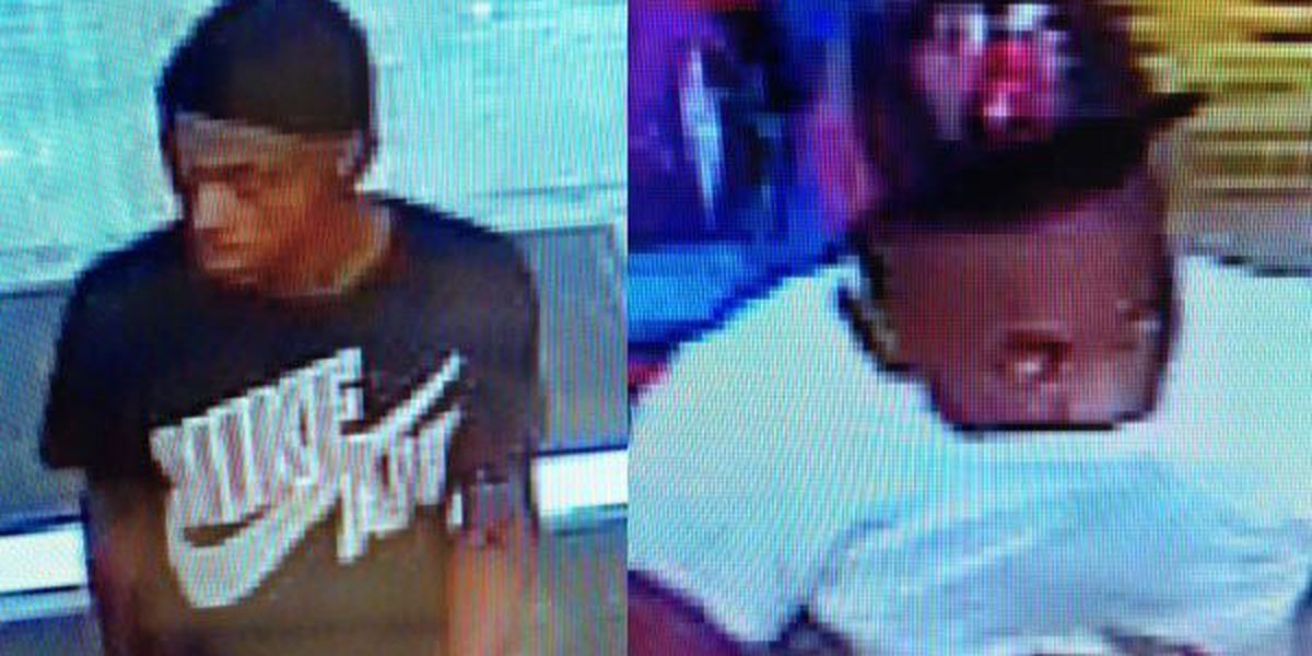 Deputies searching for suspects in string of shoplifting cases