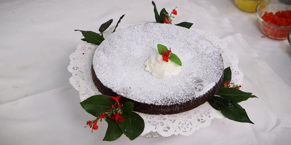 Swedish Sticky-Rich Chocolate Cake