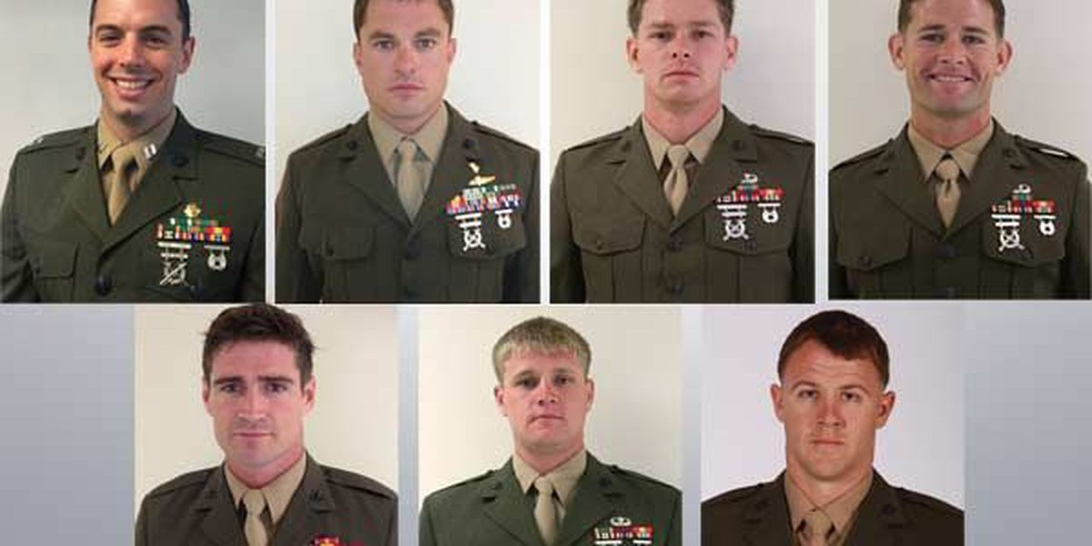 Marines plan anniversary march in honor of their brothers killed in helicopter crash