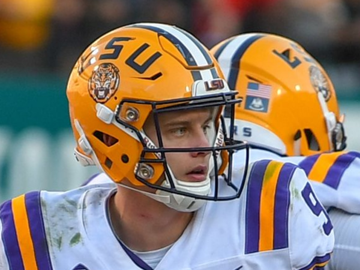 Joe Burrow named Golden Arm contender