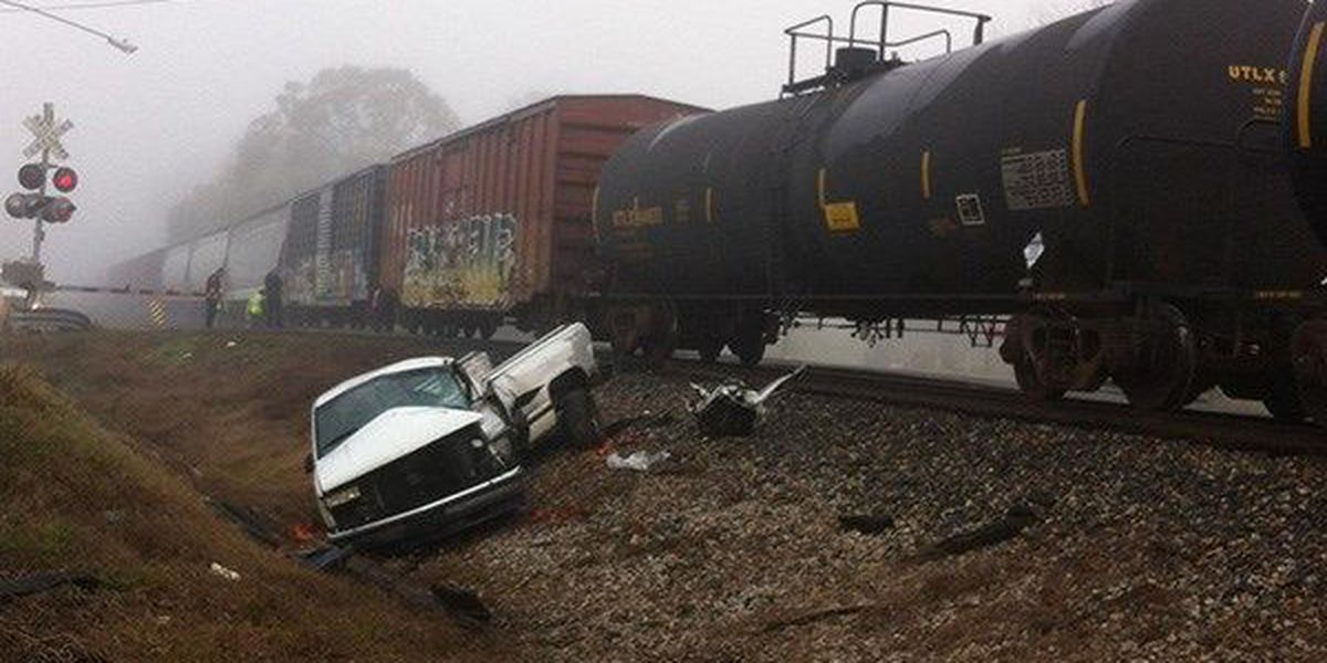Man injured in train crash now listed in critical condition