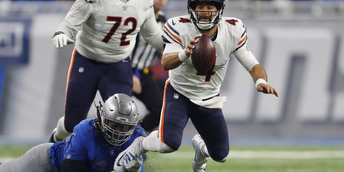 Chase Daniel fills in, leads Bears to 23-16 win over Lions