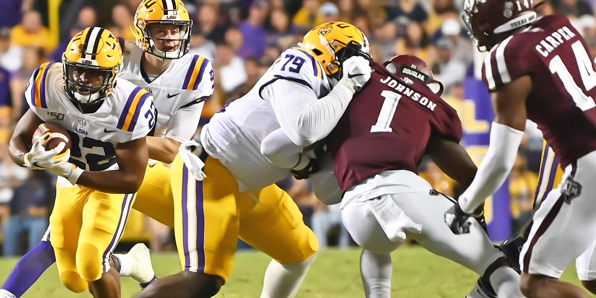 2020 NFL DRAFT: LSU C Lloyd Cushenberry selected in 3rd round (No. 83 overall) by Denver Broncos