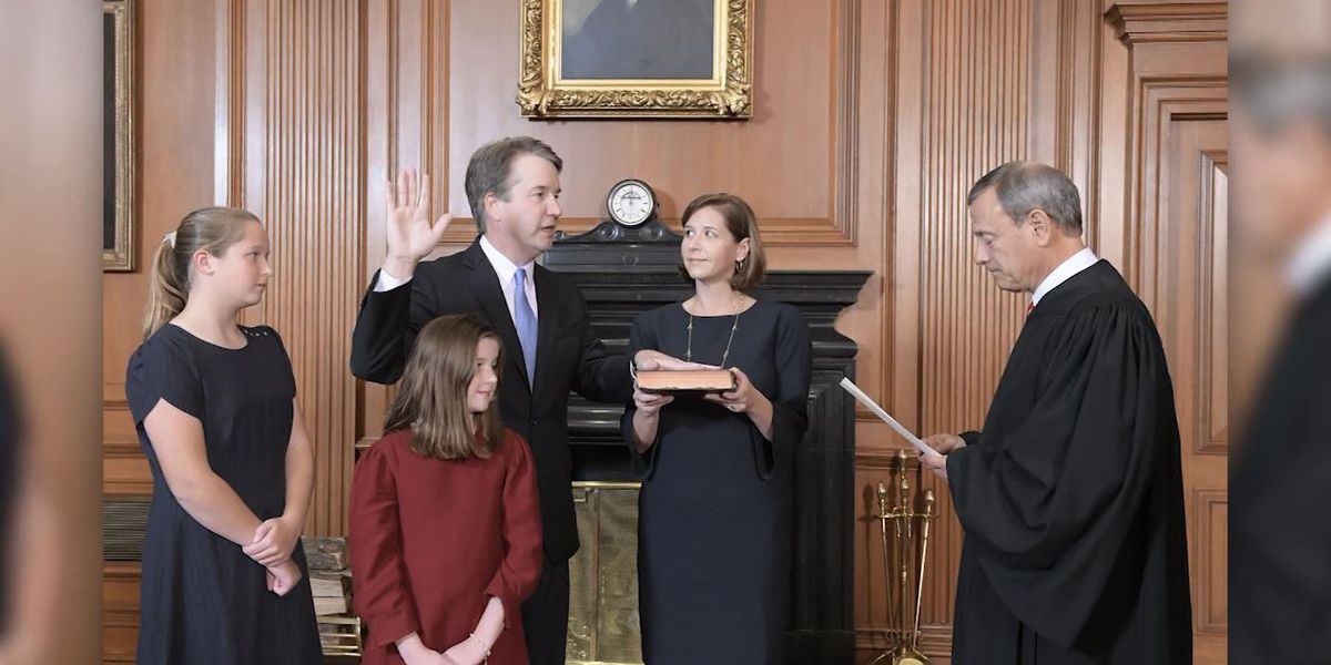 Kavanaugh sworn in as newest associate justice, concluding deeply bitter Supreme Court fight