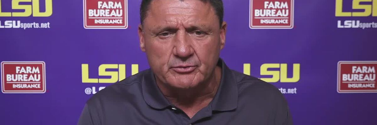 Ed Orgeron Virtual News Conference - 9/24 (Full Interview)