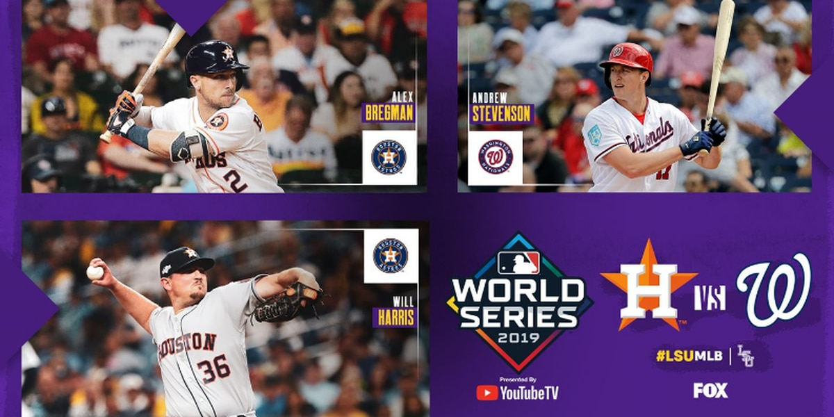 Three former Tigers prepare for the 2019 World Series
