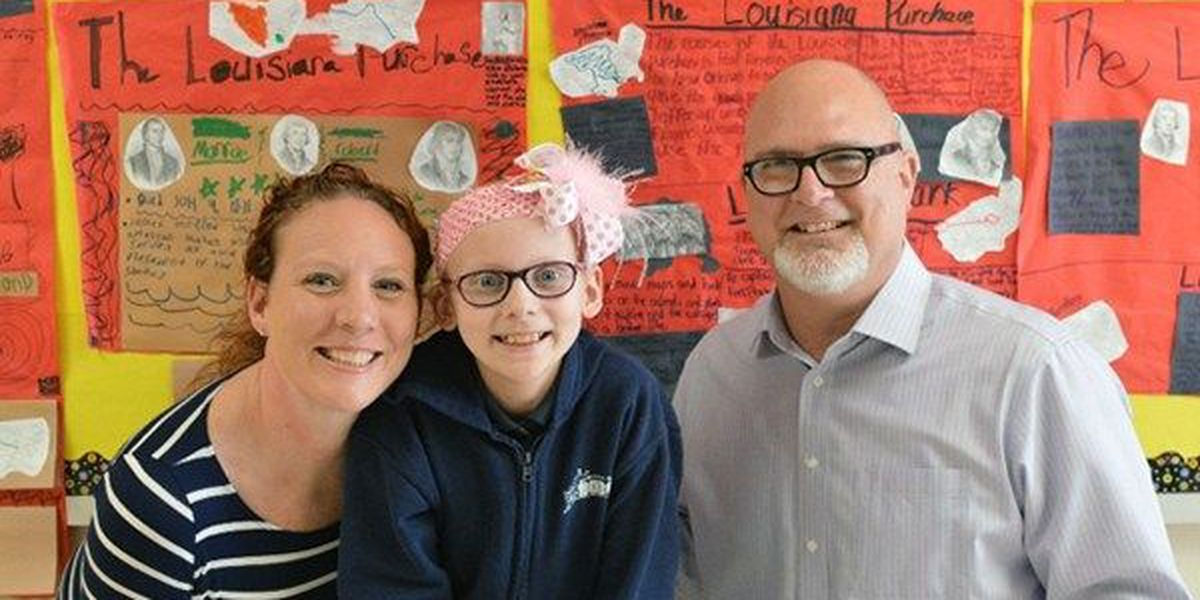 Spanish Lake Primary fourth grader beats cancer