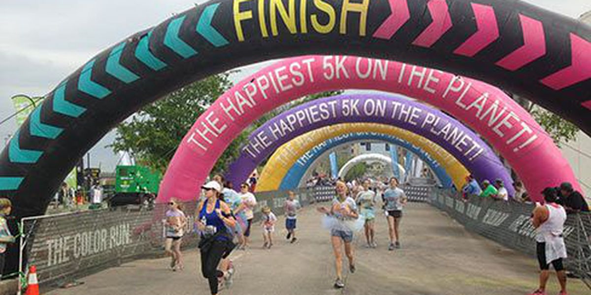 Baton Rouge Color Run aims to show how fun working out can be