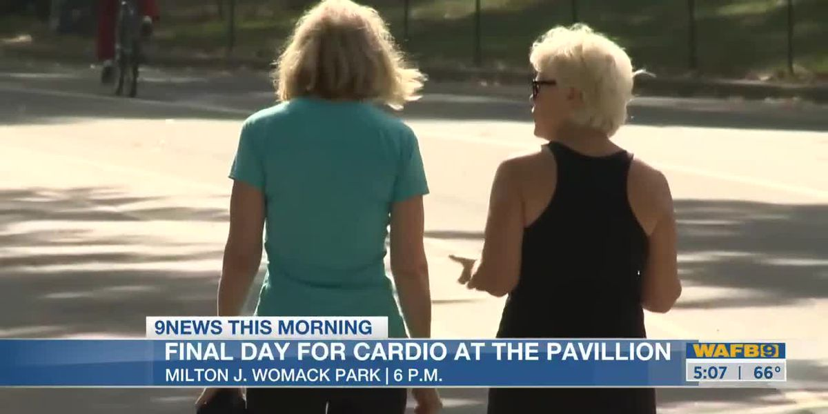 Cardio at the Pavilion: learn how to eat healthy and exercise-5am